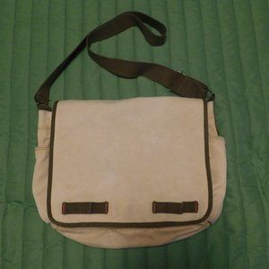 *4.99 SHIPS* Cool Canvas Messenger Distressed